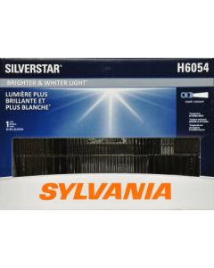 Sylvania H6054 Silverstar High-Performance Halogen Headlight (Qty 1)